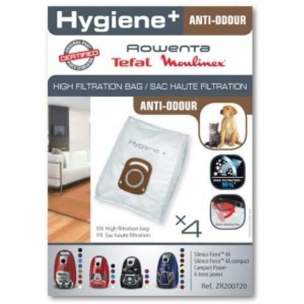 Σακούλες σκούπας Rowenta Anti Odour Hygiene+ Original